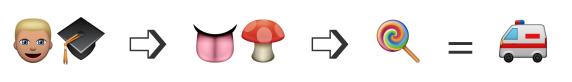 creative writing emoji prompt