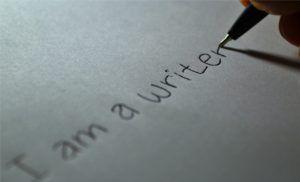 I am a writer