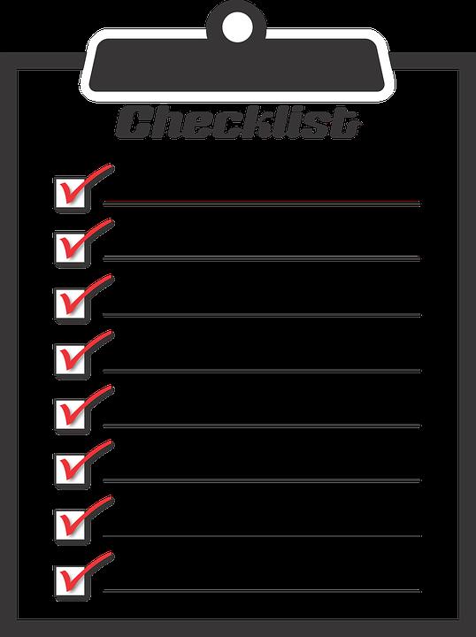 checklist-1316848_960_720