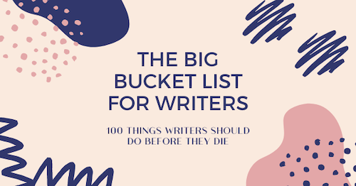 Bucket List for Writers