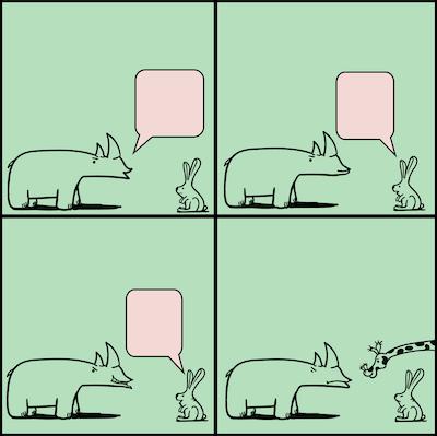 dialogue between animals