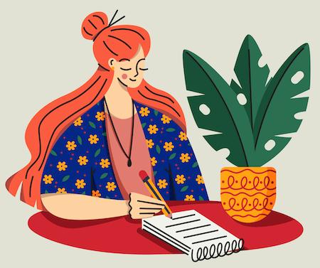 Female Ghostwriter