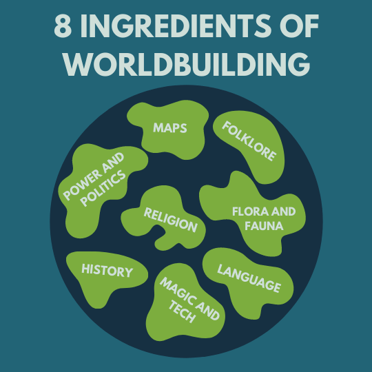 8 crucial ingredients for creating a world