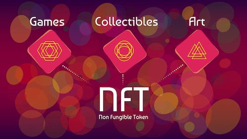 NFTs games collectibles art books