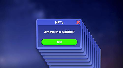 NFTs bubble