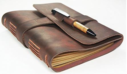 leather journal for writers